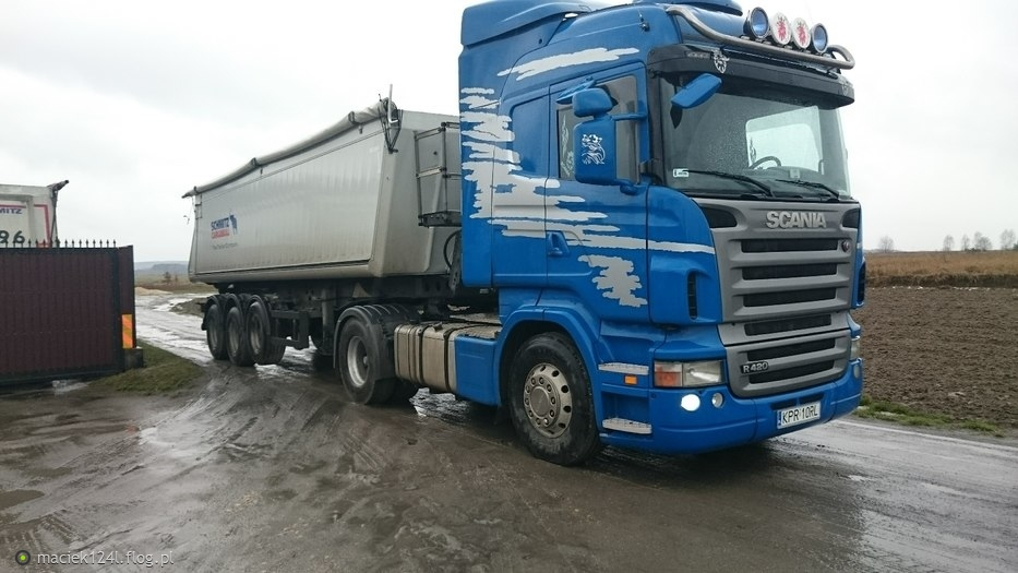"Scania 420 ""KUBIK"""