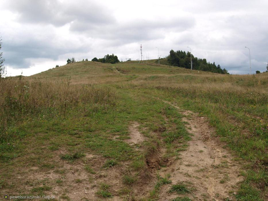 """na szczyt """"Piękna Góra"""" Gołdap"""