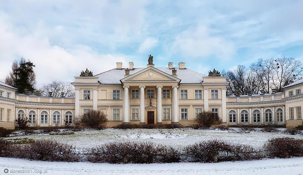 Pałac w Śmiełowie - obecnie Muzeum Adama Mickiewicza