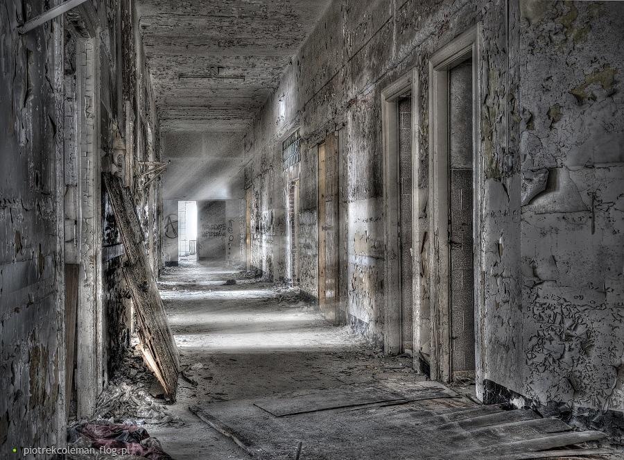 Opuszczony szpital w Nowy Targu
