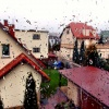 w deszczowy dzień