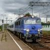 EP08-010 :: 30 sierpnia 2008 - &quot;<br />Beskidy&quot; z Warszawy <br />do Bielska Białej wjeżdża<br />ją na stację końcow