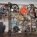Wspomnienia z Bazylei jedno z pomieszczeń muzeum poświęconym szwajcarskiemu malarzowi i rzeźbiarzowi Jeanowi Tinguely'emu i jego piekielna rzeźba
